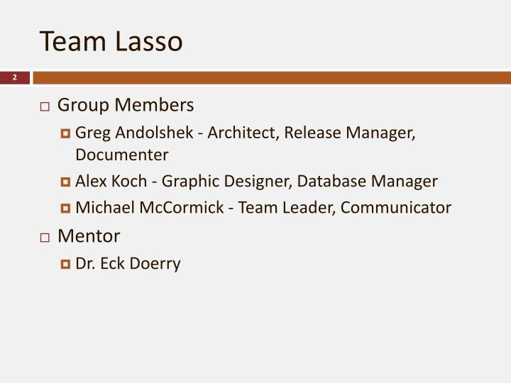 Team Lasso
