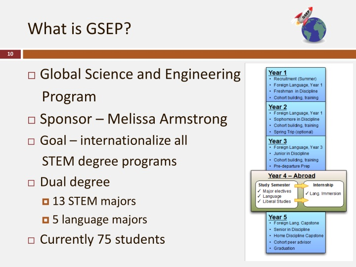 What is GSEP?