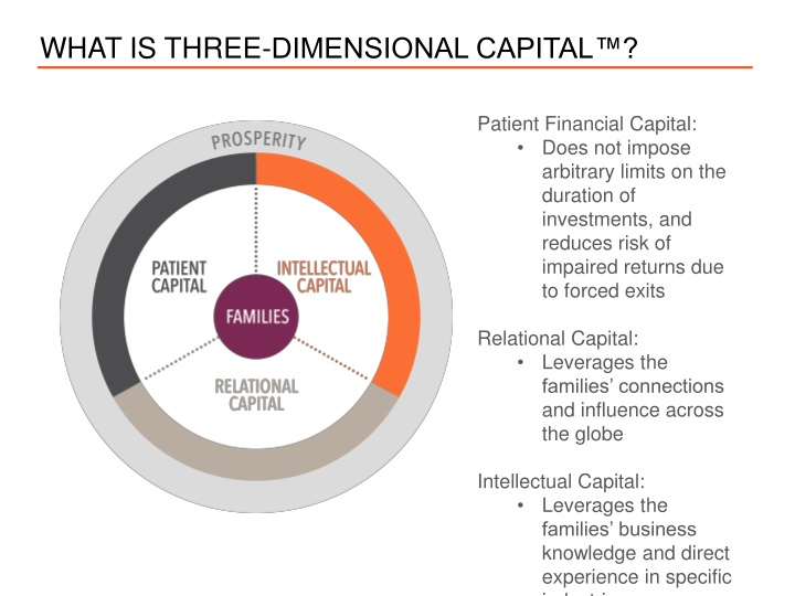 What is three dimensional capital