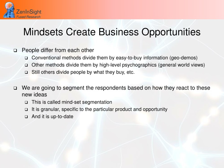 Mindsets Create Business Opportunities