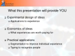 what this presentation will provide you
