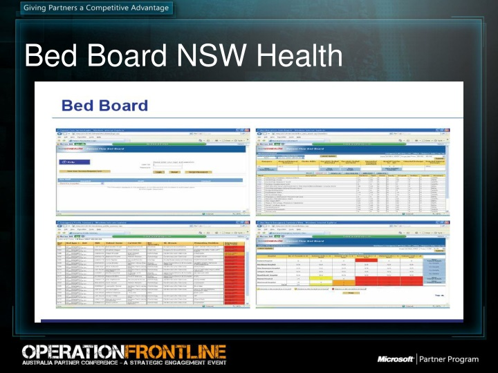 Bed Board NSW Health