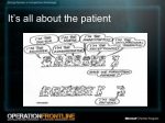it s all about the patient