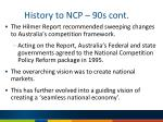history to ncp 90s cont