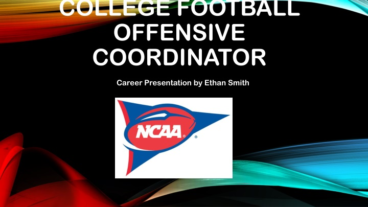 College football offensive coordinator