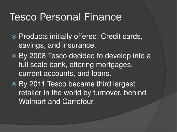 Tesco Personal Finance