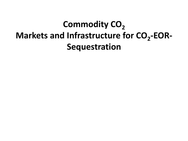 Commodity CO