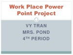 work place power point project