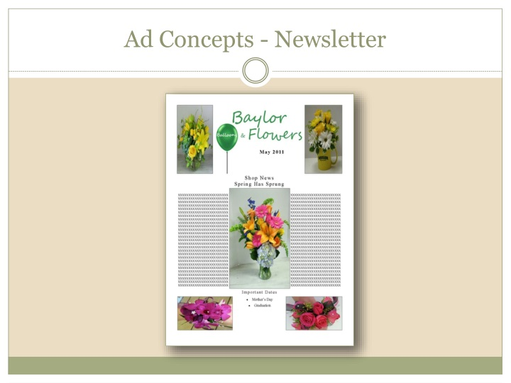 Ad Concepts - Newsletter