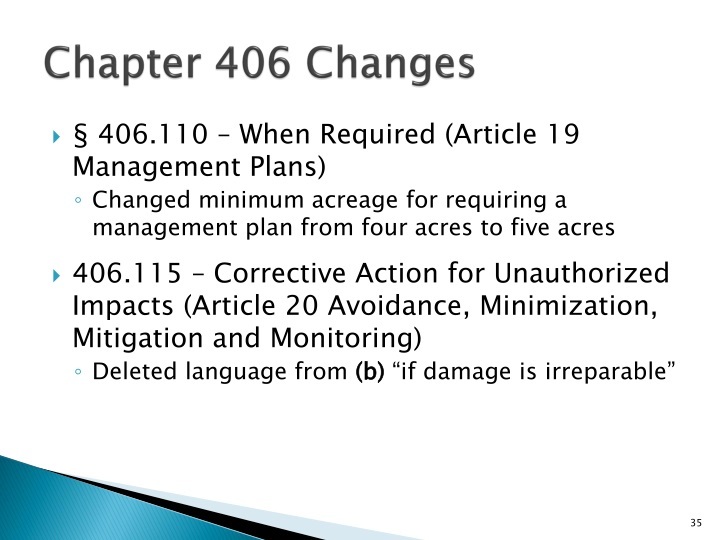 Chapter 406 Changes