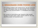 2 broadband over power line