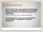 3 types of plc