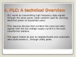 4 plc a technical overview