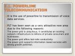 5 1 powerline telecommunication