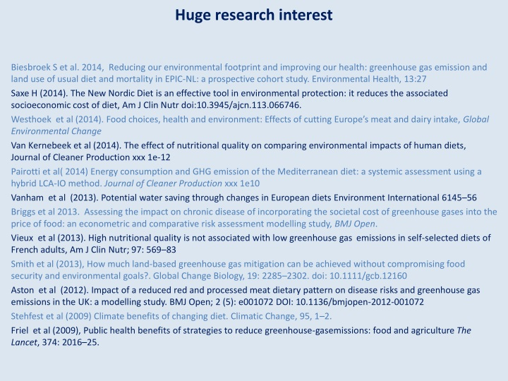 Huge research interest