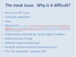 the meat issue why is it difficult
