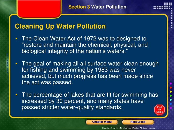 Cleaning Up Water Pollution