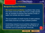 nonpoint source pollution