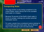 transporting water1