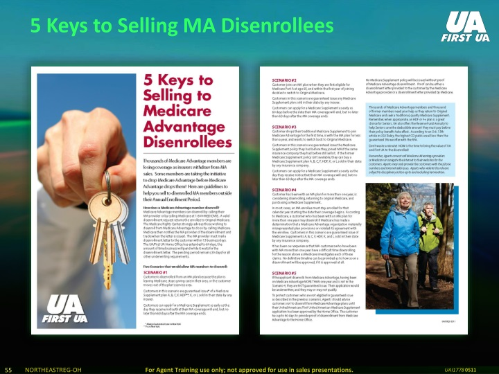 5 Keys to Selling MA