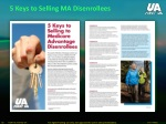 5 keys to selling ma disenrollees