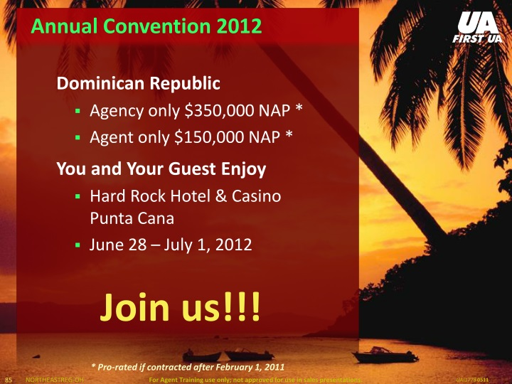 Annual Convention 2012