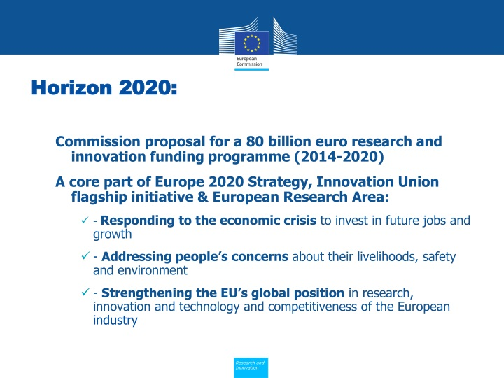 Horizon 2020: