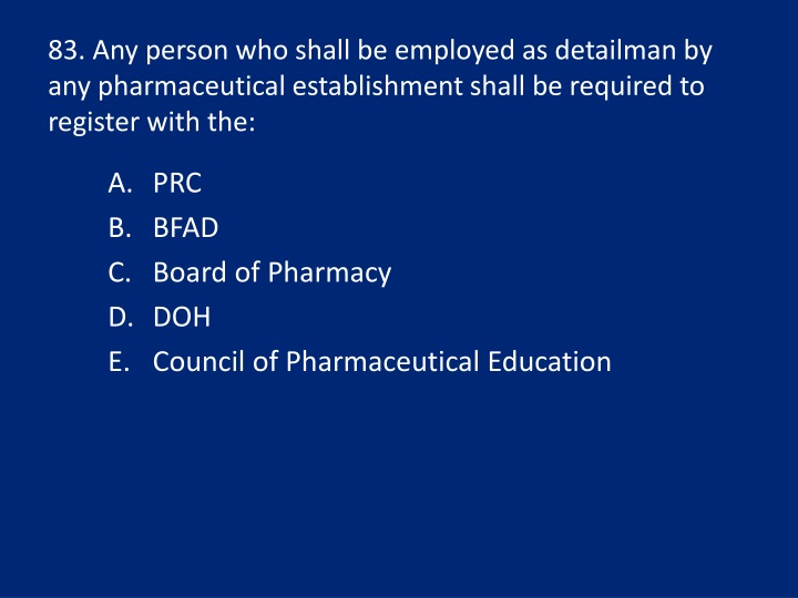 83. Any person who shall be employed as