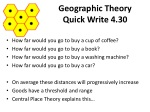 geographic theory quick write 4 30