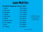 largest world cities
