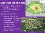 medieval world cities
