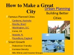 urban planning building better cities