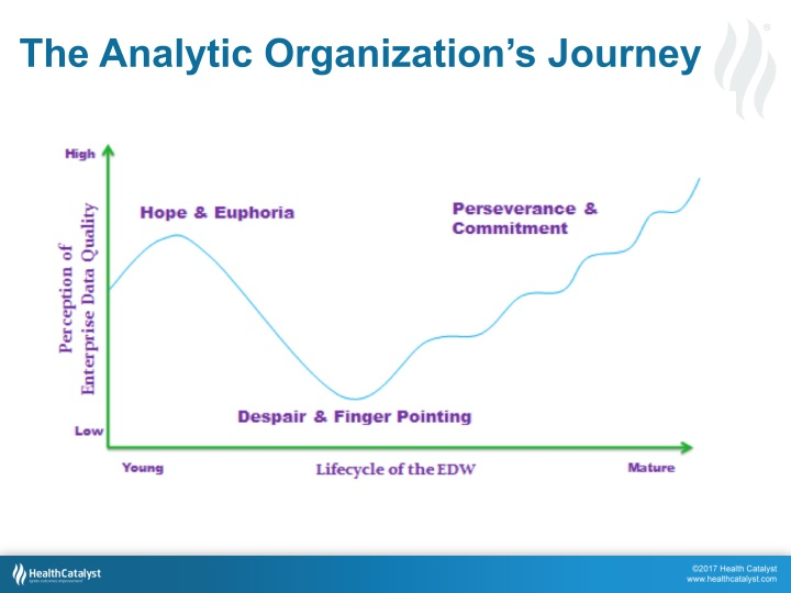 The Analytic Organization's Journey