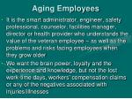 aging employees
