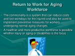 return to work for aging workforce2