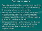 return to work2