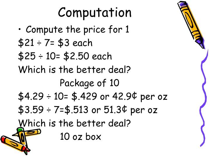 Computation