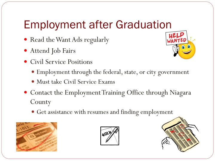 Employment after Graduation