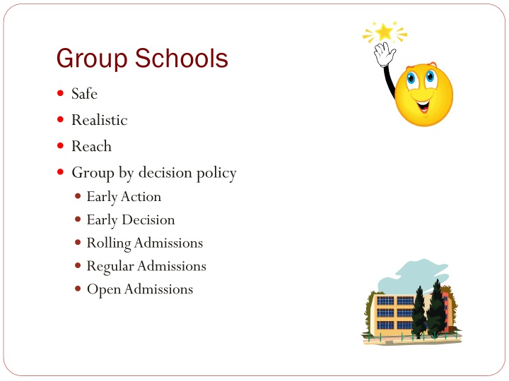 Group Schools