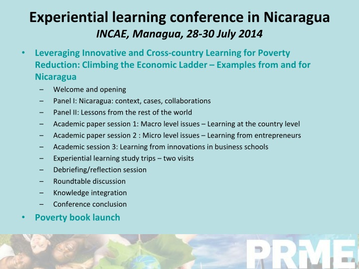 Experiential learning conference in Nicaragua