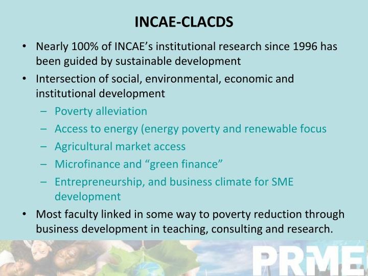 INCAE-CLACDS