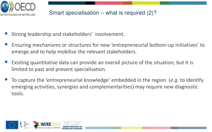 Smart specialisation – what is