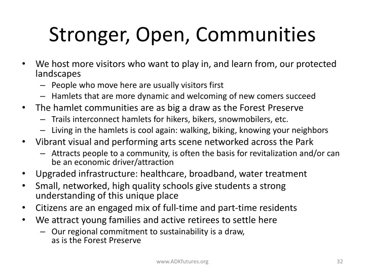 Stronger, Open, Communities