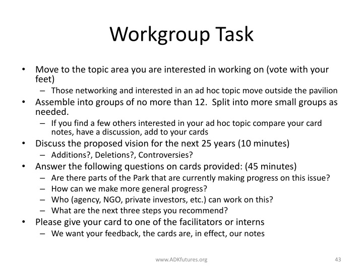 Workgroup Task