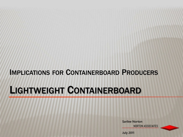 Implications for containerboard producers