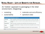 retail ready lots of benefits for retailer