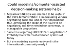 could modeling computer assisted decision making systems help