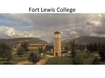 fort lewis college