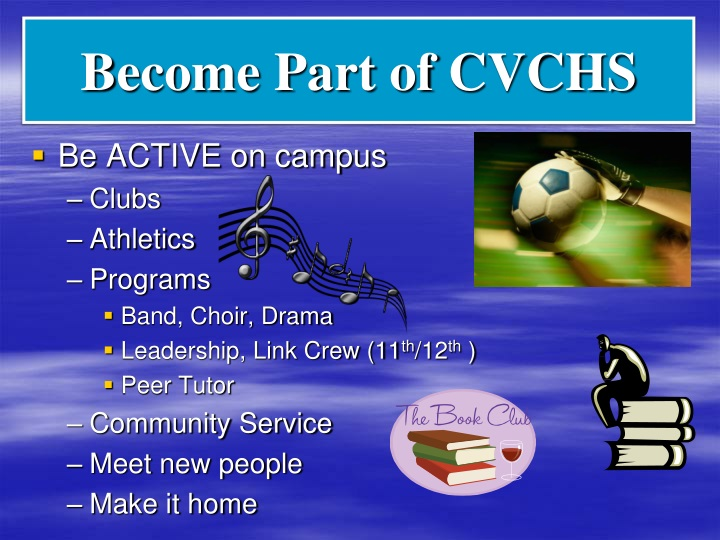 Become Part of CVCHS