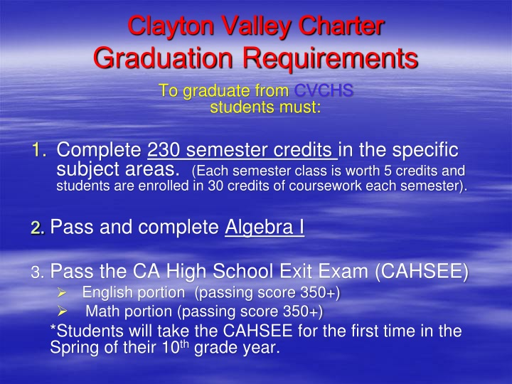 Clayton Valley Charter